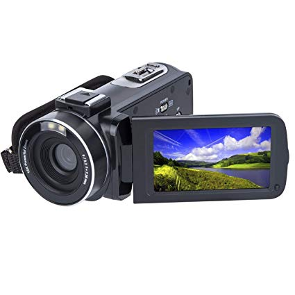 Video Camera Camcorder SOSUN HD 1080P 24.0MP 3.0 Inch LCD