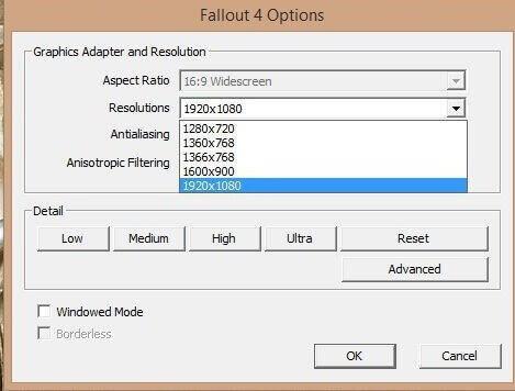 Fallout 4 options