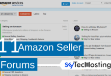 amazon seller forum