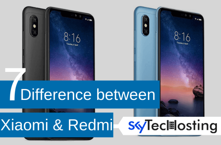 difference between mi and redmi