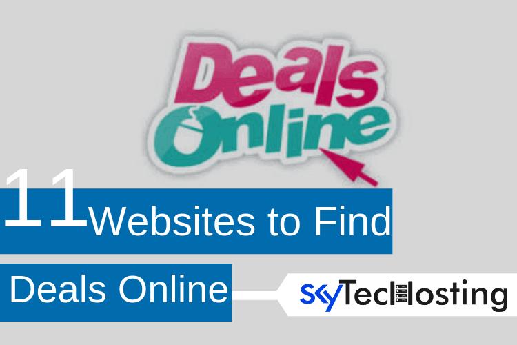 online deals websites