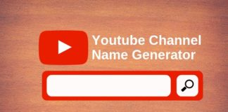youtube name generator