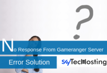 no response from gameranger server