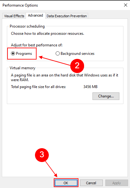 adjust for best performance windows 10 - 2