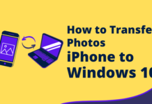 how to transfer photos from iphone to windows 10